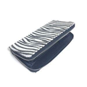 Afbeelding van  portemonnee met zeebraprint