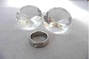 Afbeelding van A kwaliteit stainless steel ring maat 17